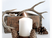 Charming DIY Decorations For A Rustic Christmas images 30
