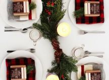 15 Christmas Table Settings to Win You Best Host images 3