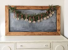 Charming DIY Decorations For A Rustic Christmas images 15