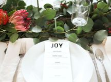 15 Christmas Table Settings to Win You Best Host images 13