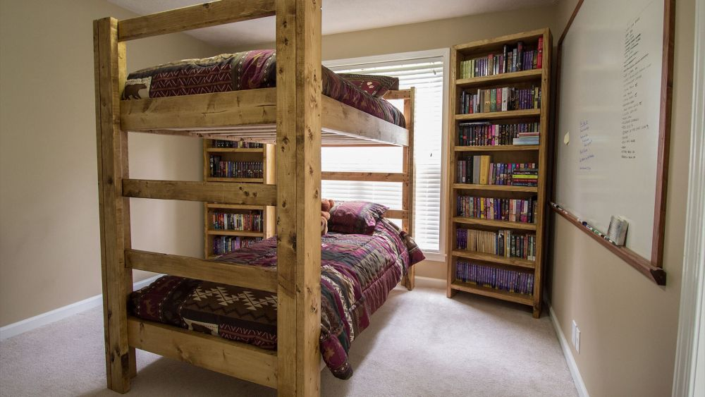 stylish bunk bed plans it s all in