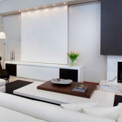Hiding Tv In Living Room Duplex False Ceiling Designs Modern Ways To Seamlessly Hide The View Gallery