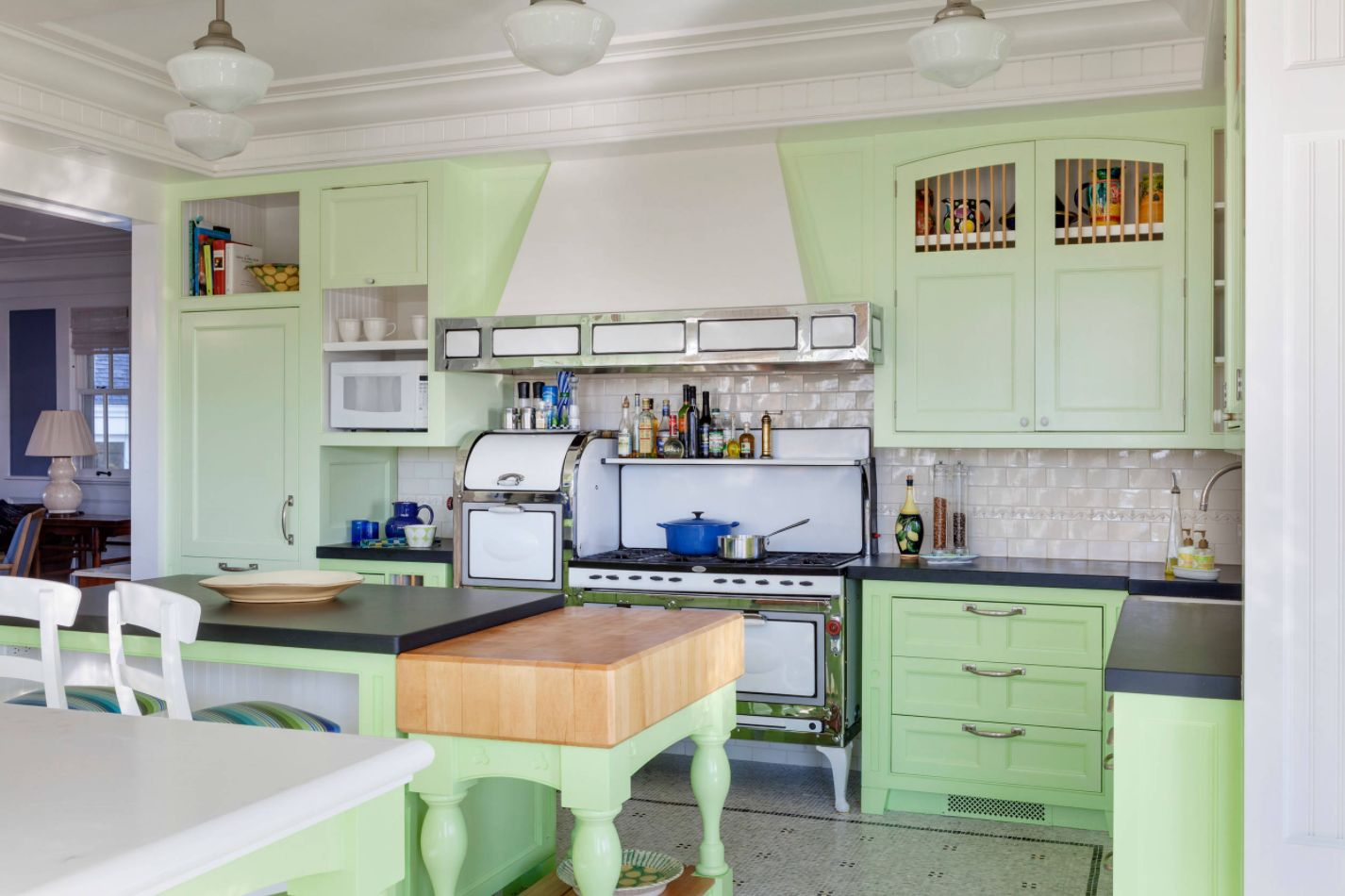 green kitchen cabinets cabinet lock invigorating ways to decorate with view in gallery