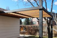 How to Install Modern Pergola Rafters Without Brackets