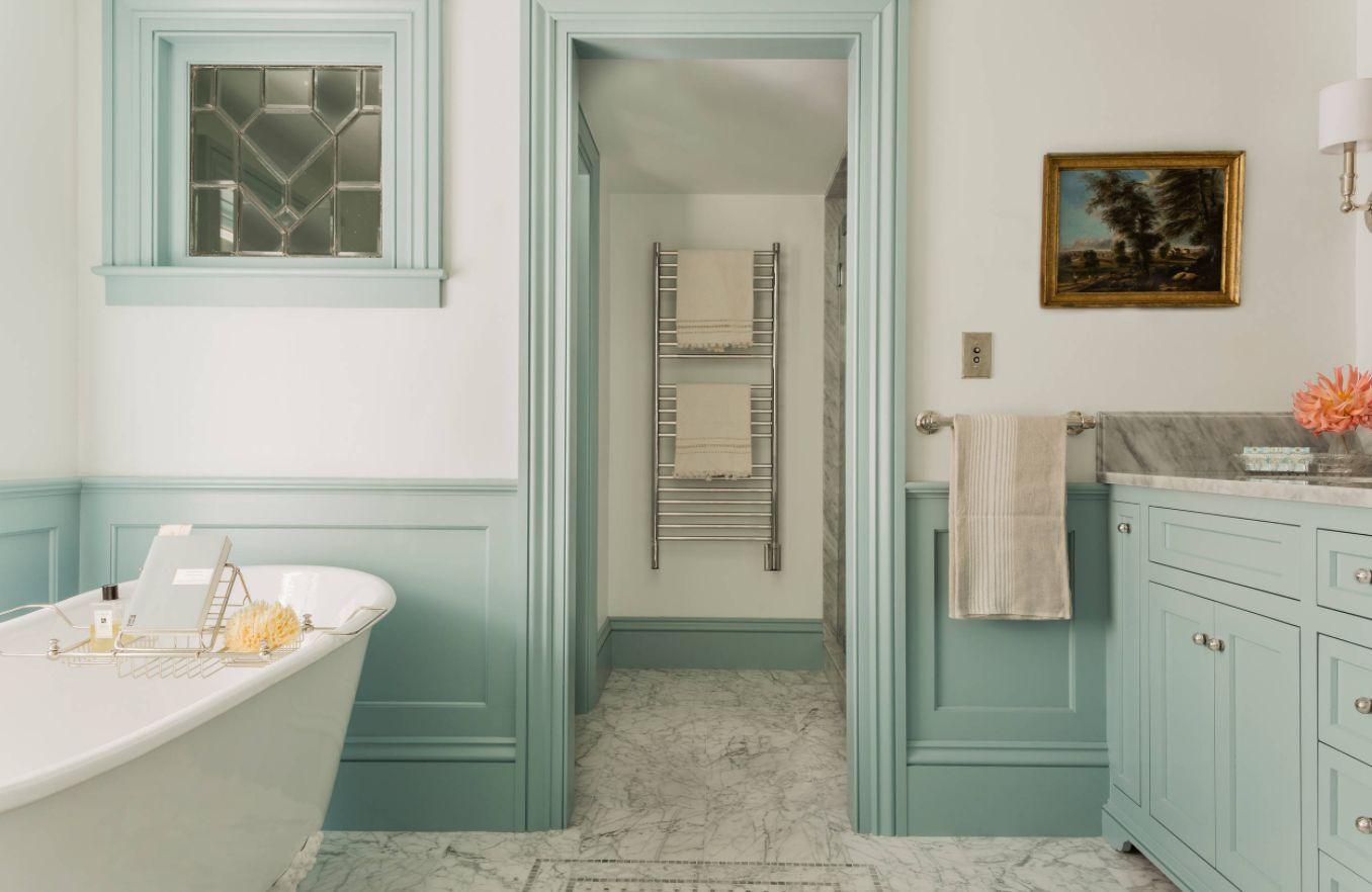 Paneling For Bathroom Bathroom Wainscoting What It Is And How To Use It