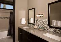 Tile Wall Behind Bathroom Sink - Tile Design Ideas
