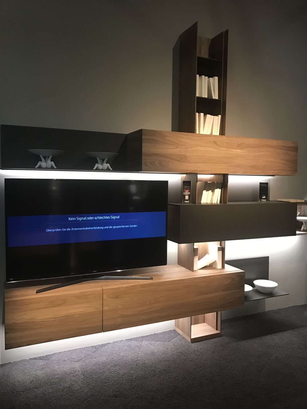 modern living room cabinets earth tone colors for cool ways to use led strip lights highlight beautiful ...