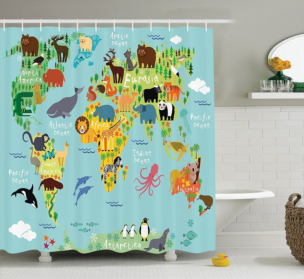 Fabric Shower Curtains Amazon