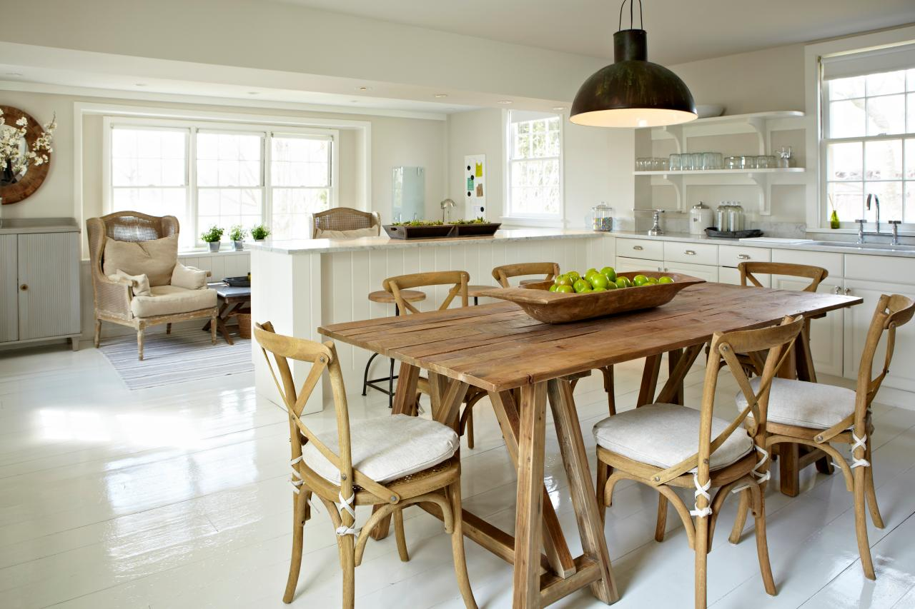 farmhouse kitchen tables decoration ideas 10 reasons you need a table heavy wood
