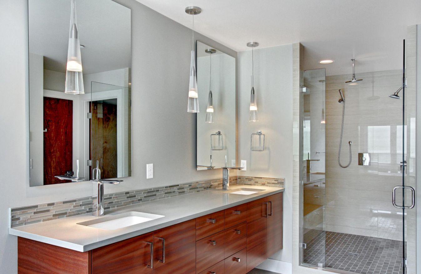 Bathroom Backsplash Mania
