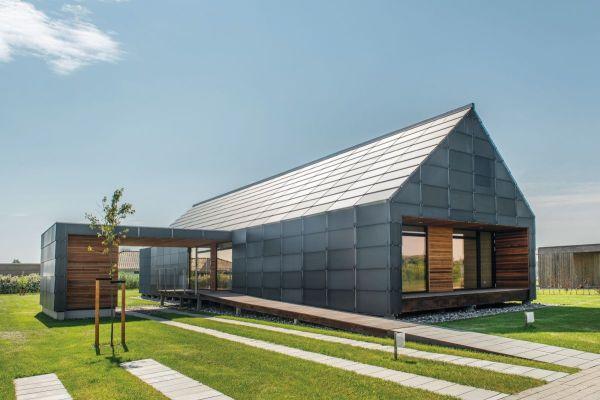Gable-Roof Modern House
