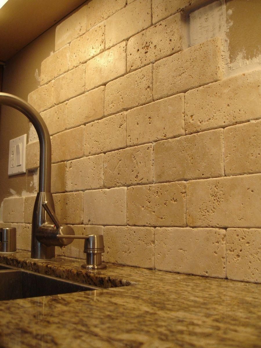 travertine kitchen backsplash freestanding pantry ideas for nostalgic designs
