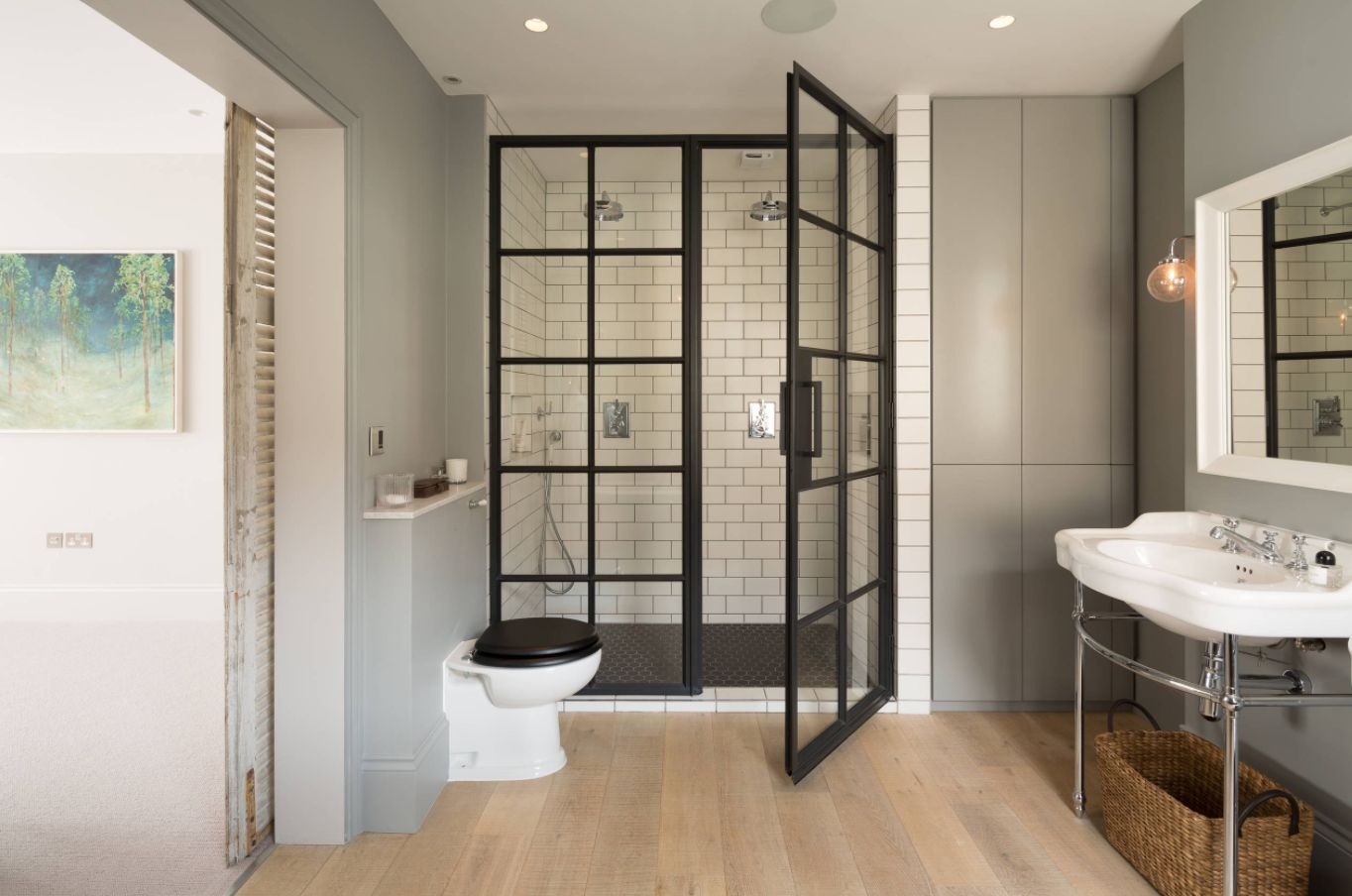 Subway Tile Bathroom Stylish Ways To Modernize A Subway Tile Shower
