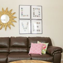 Ideas For Decorating A Large Wall In Living Room Contemporary Formal How To Decorate With Style Clustered Smaller Frames