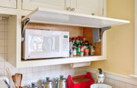 How A Microwave Shelf Can Improve Your Overall Kitchen ...