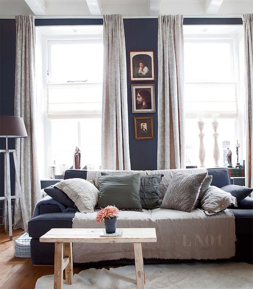 rustic decorating ideas for living room small rooms modern 40 to fashion your revamp around in navy blue decor