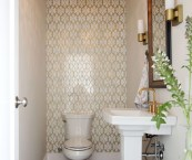 small powder room pictures