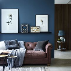 Blue Modern Living Room Simple Interior Ideas 29 Rooms Made For Relaxing View In Gallery