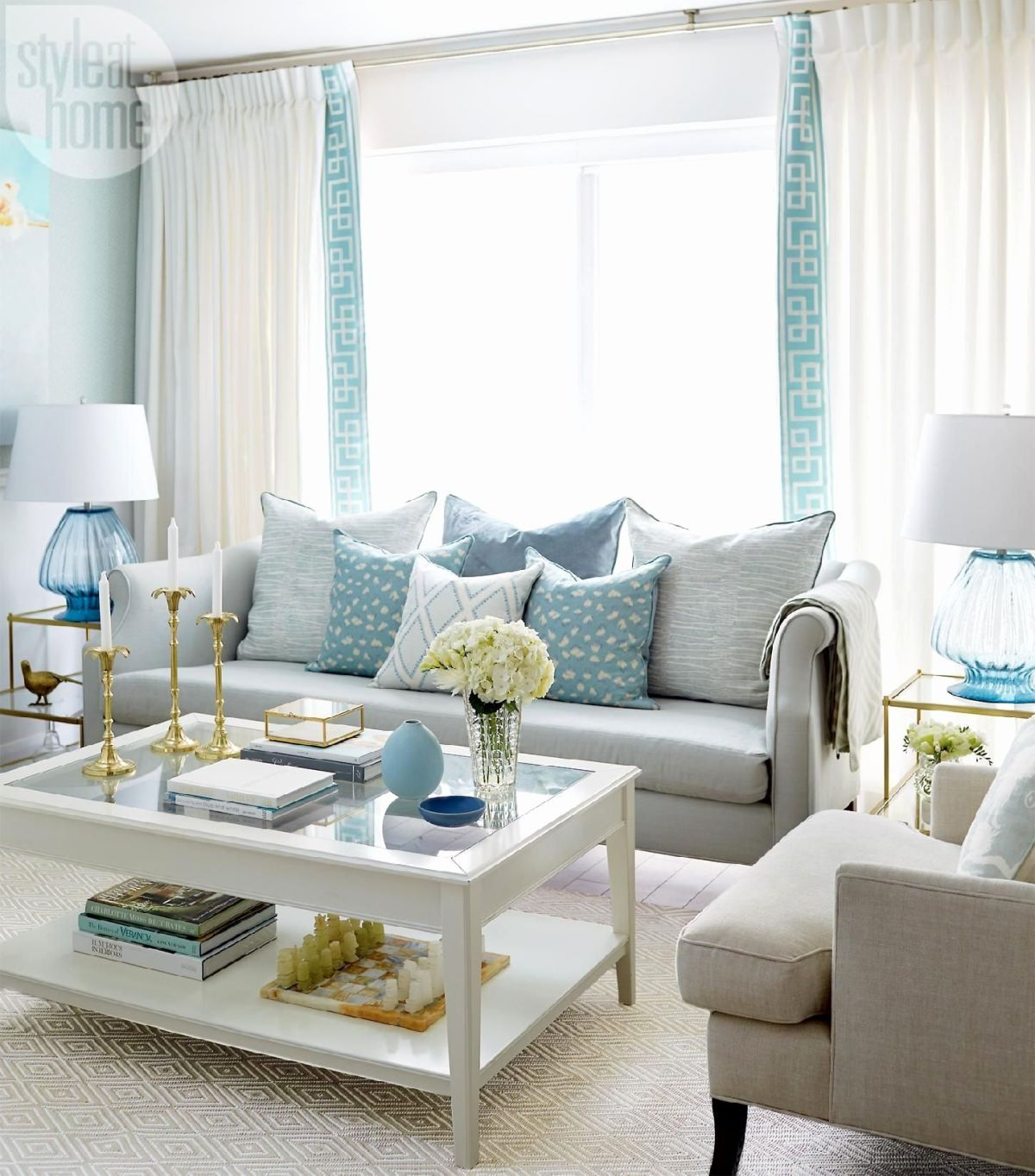 decorating ideas living room blue light fixtures low ceiling 29 rooms made for relaxing view in gallery