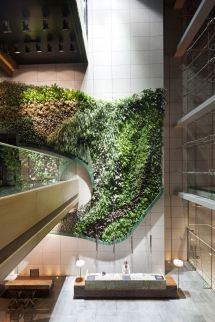 Green Walls Create Healthier Environment Indoors