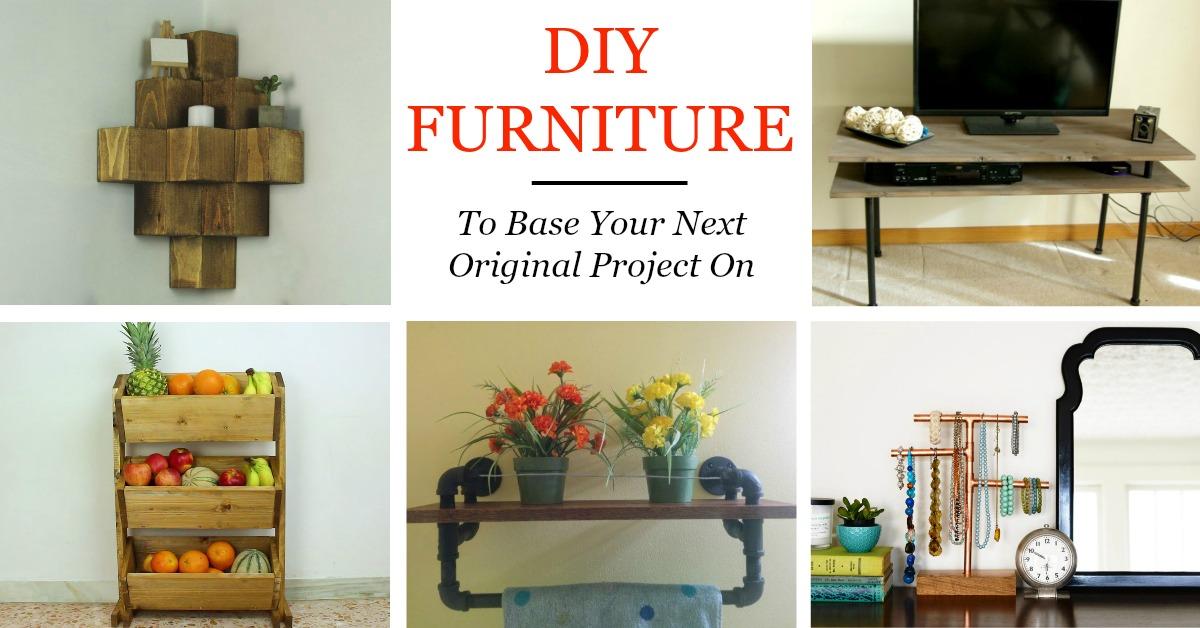 50 diy furniture ideas