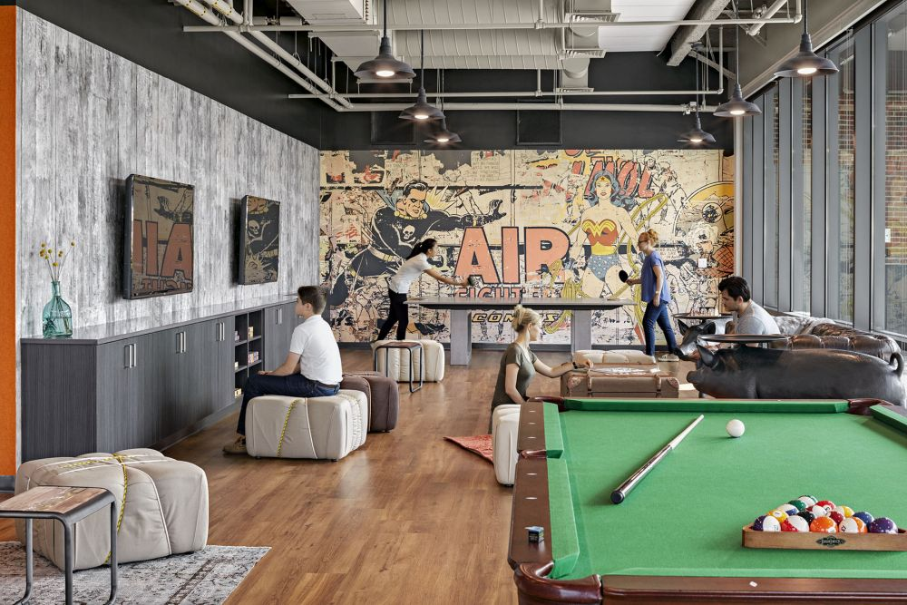 Fun group games for kids and adults are a great way to bring. Cool Office Game Room Designs With Homey Features