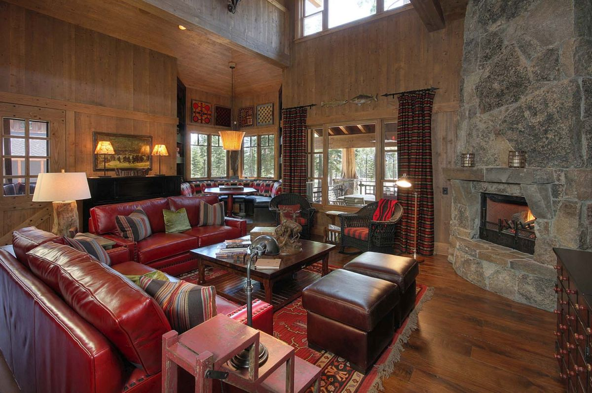 Beautiful Mountain Retreats With Stone Fireplaces