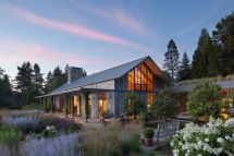 Beautiful Portland Barn House Design Melds With Extensive
