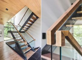 16 Stair Handrail Ideas With Glamorous Designs