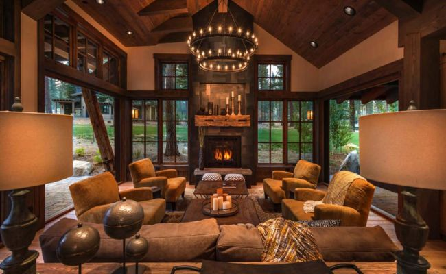 Rustic Living Room Decor Ideas Inspired By Cozy Mountain