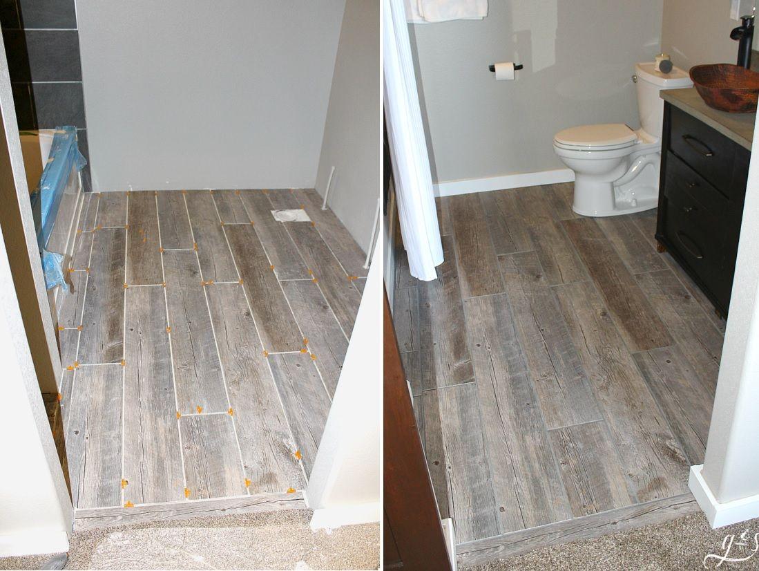 how to update your bathroom floor tiles