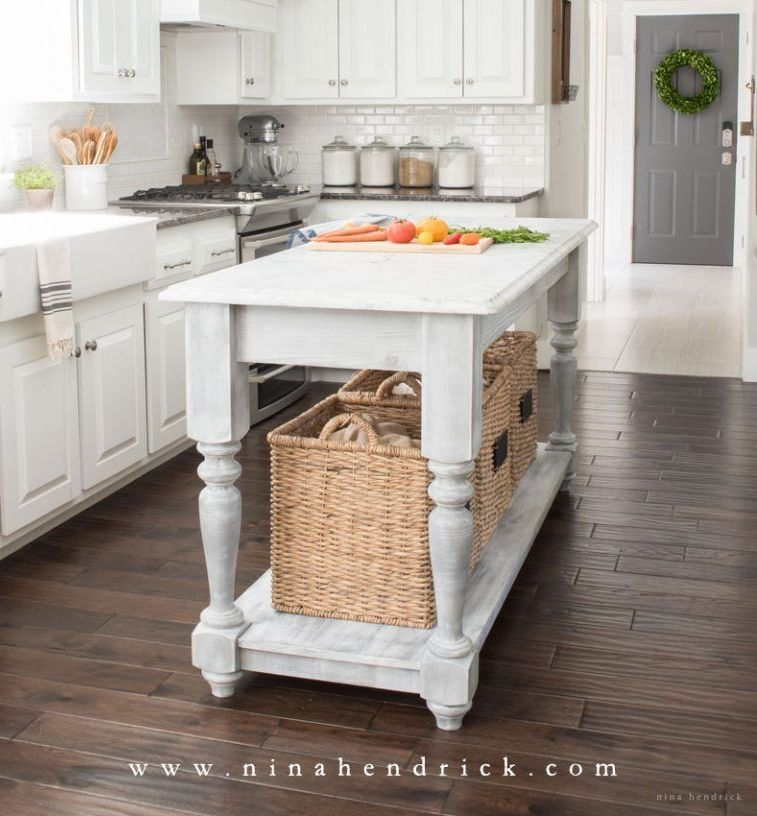 40 diy kitchen island ideas that can