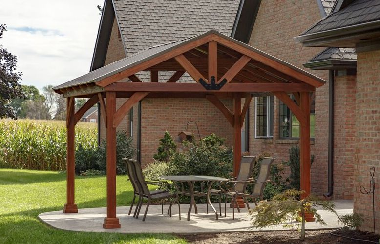 how to build your own wooden gazebo