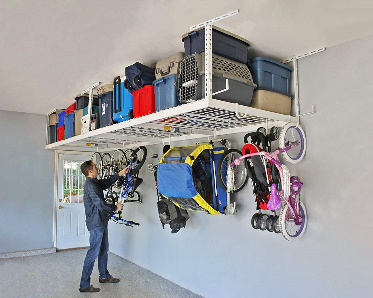 10 Great Overhead Storage Ideas For The Garage