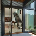 12 Extraordinary Houses With Glass Front Doors