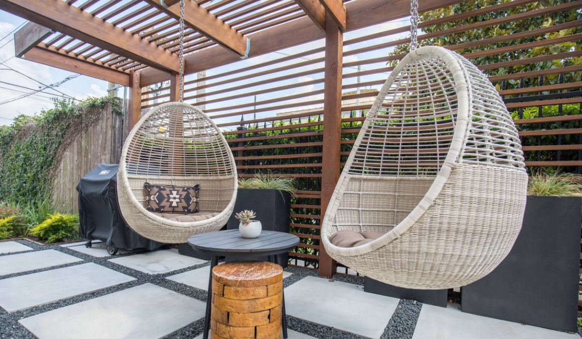 the best swing chairs for patios
