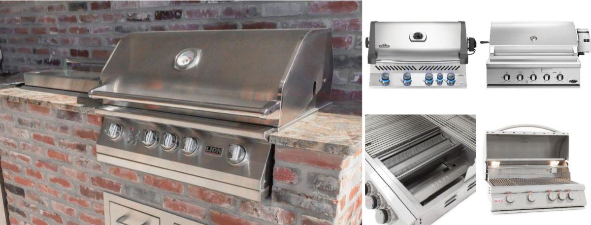 best outdoor built in grill