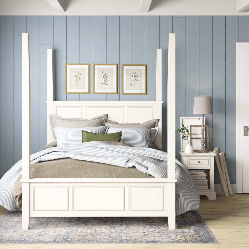 farmhouse bedroom set design and decor