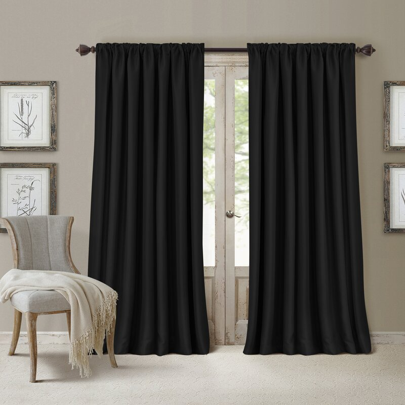 block light with best blackout curtains