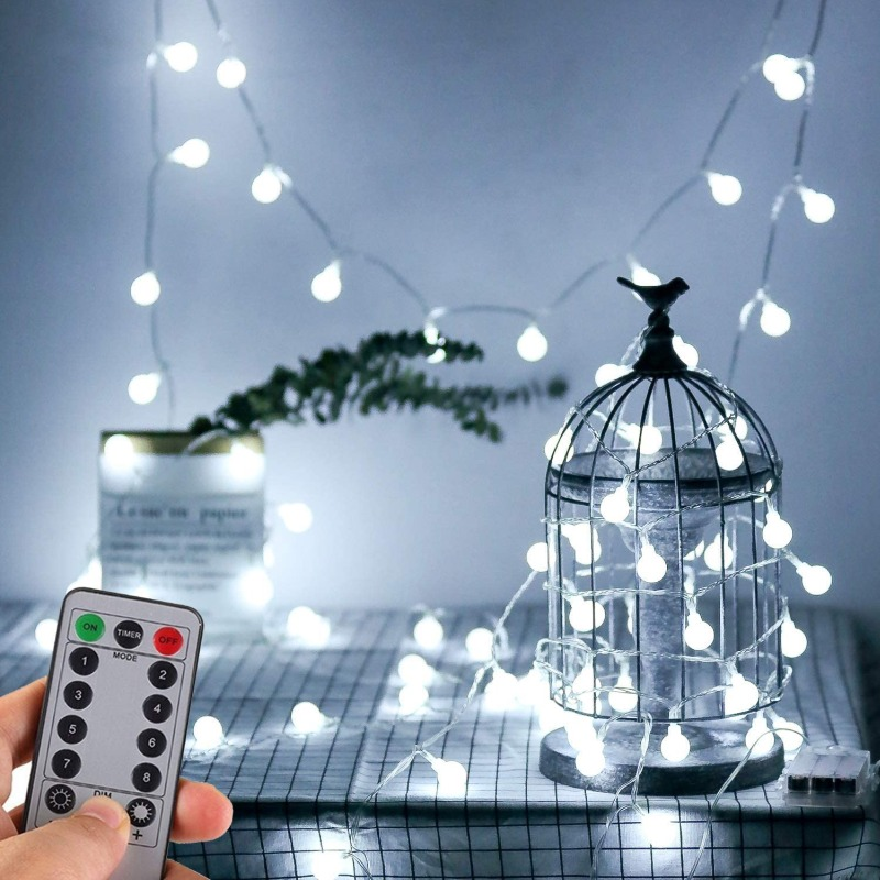 WERTIOO Battery Operated String Lights