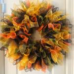 How To Make A Beautiful Mesh Wreath That S Not Like All The Others