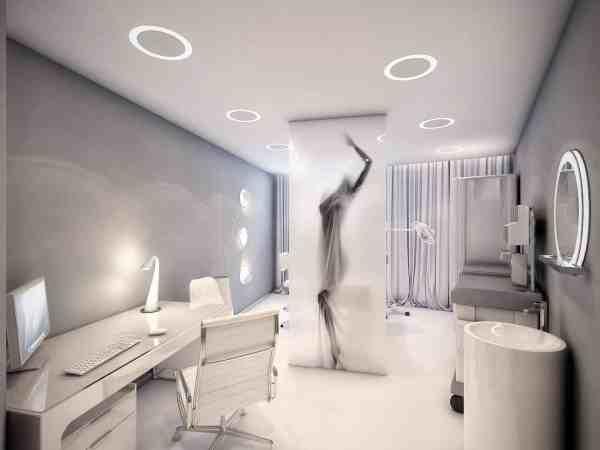 Amazing Surgery Clinic Interiors Geometrix Design