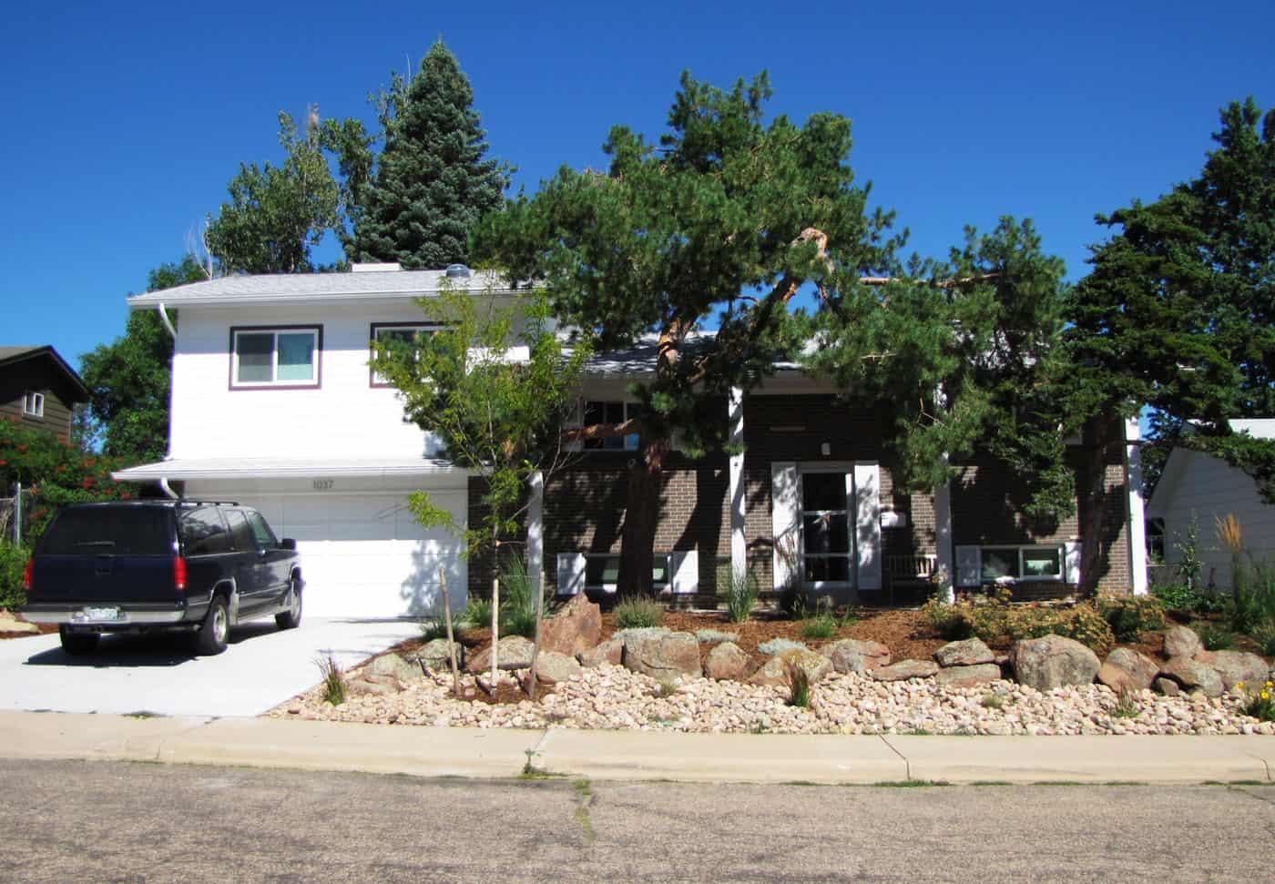 BeforeAfter 1963 Bi Level Remodeling In Boulder Colorado