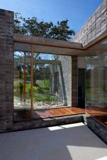 Corridor Modern Wood Walkway