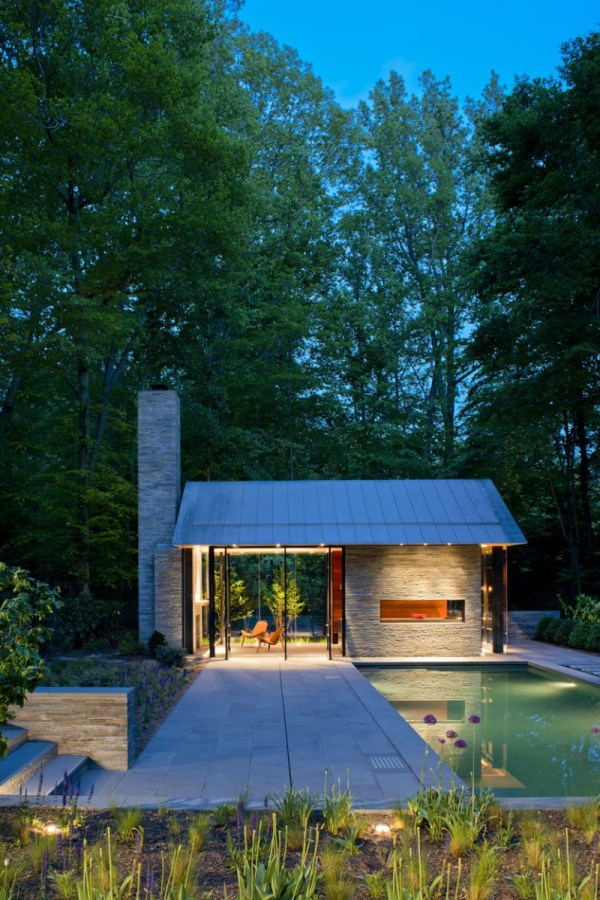 Nevis Pool And Garden Pavilion Robert Gurney Architect