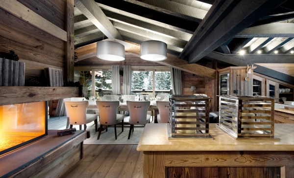 Petit Chateau Luxury Ski Chalet In Courchevel