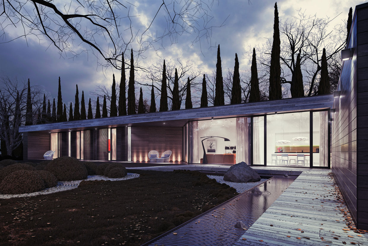 Horizontal House By 81WAWPL