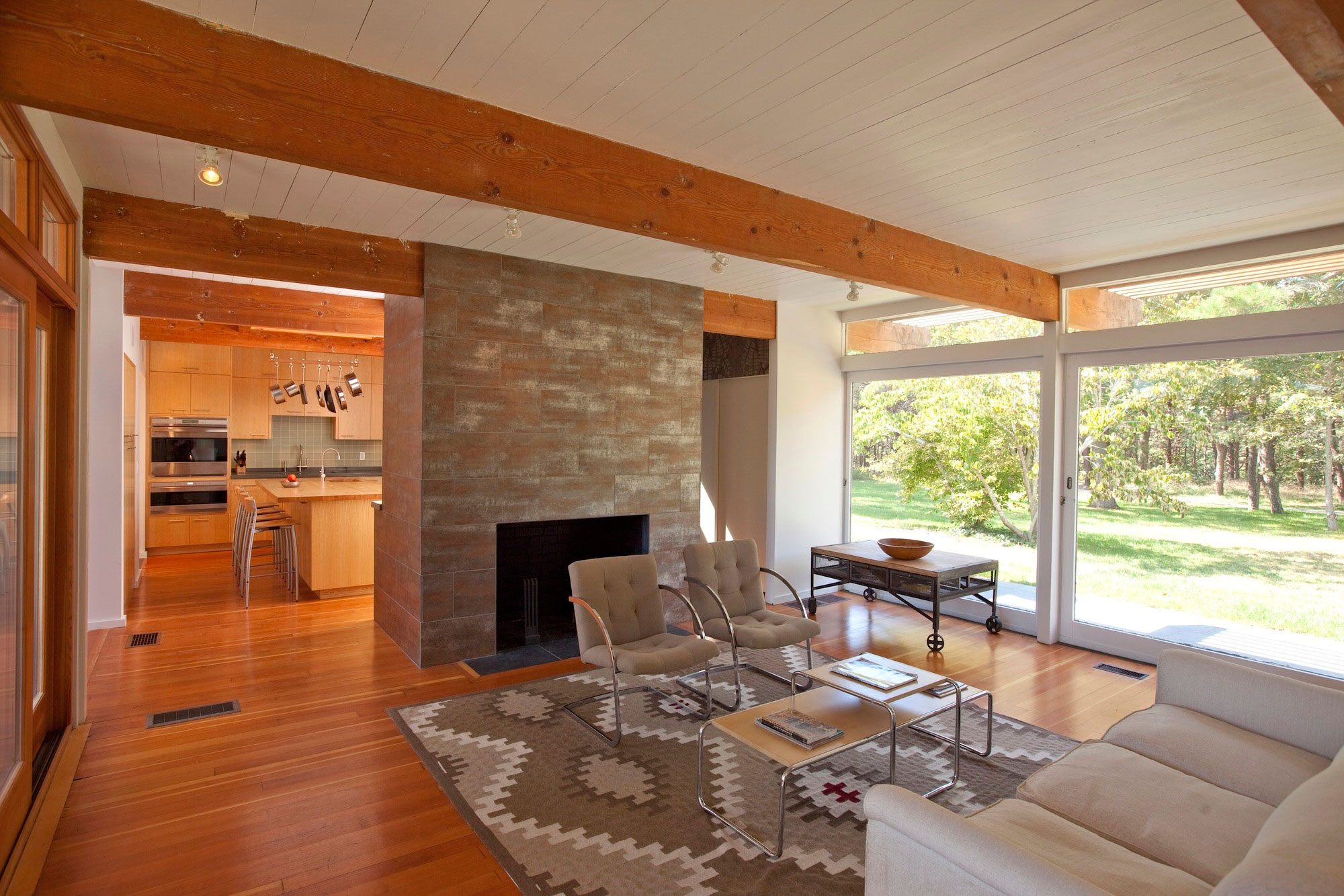 Cape Cod Modern House Addition by Hammer Architects