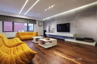 Contemporary Apartment Living Room