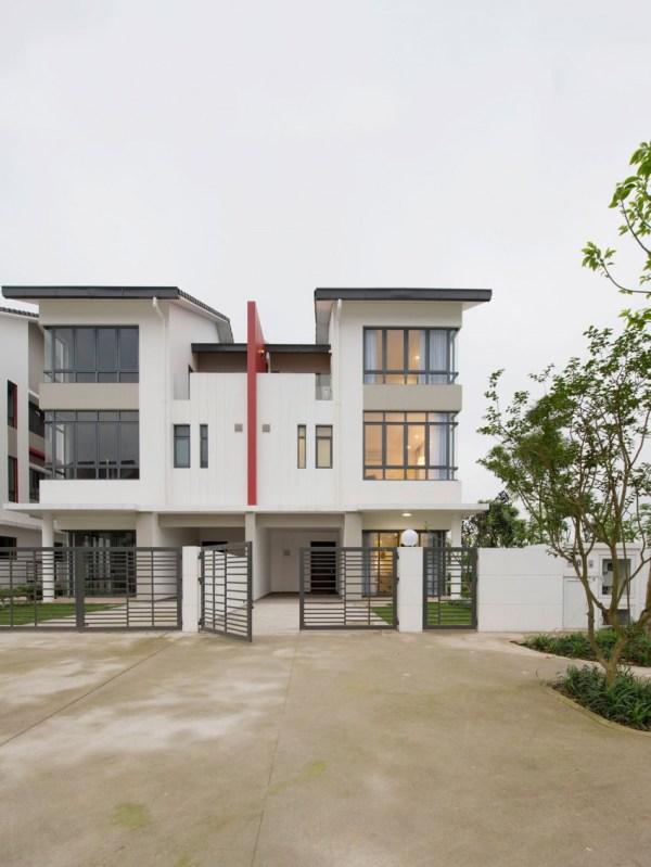 Modern Semi Detached House Design